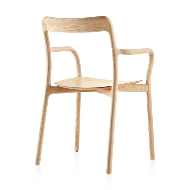 Mattiazzi Branca Solid Ash Chair in color