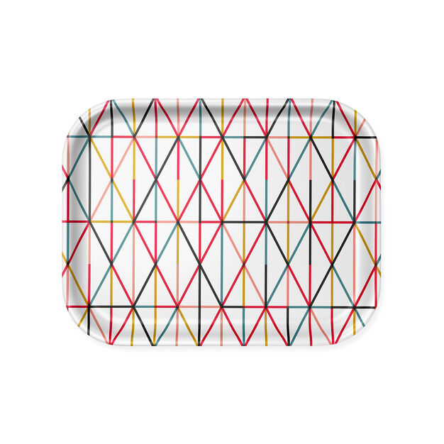 Alexander Girard Grid Tray Medium in color