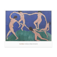 Poster Matisse: Dance I in color