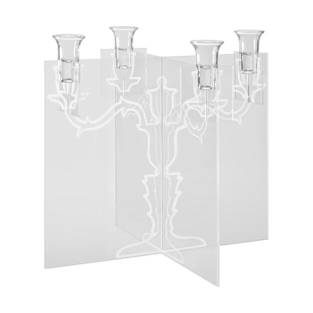 Ghost Candelabra in color Clear