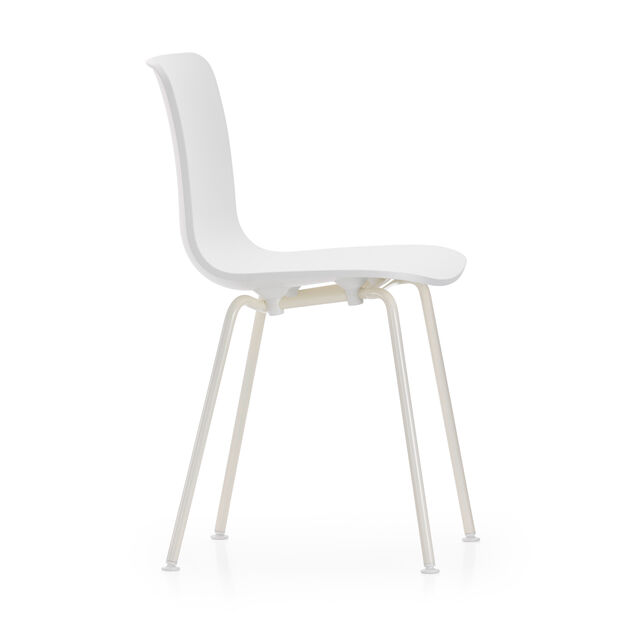 HAL Stackable Tube Chair in color White
