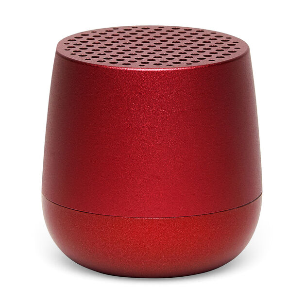 Lexon Mino Pairable Speaker in color Red