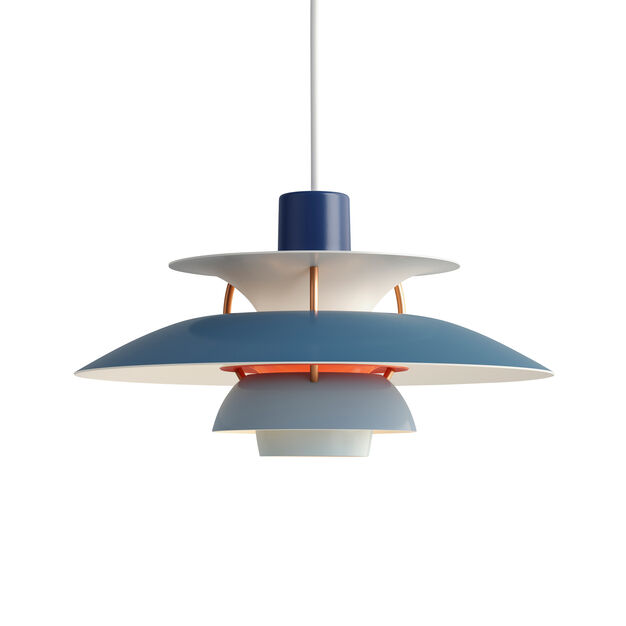 PH 5 Hanging Lamp in color Blue