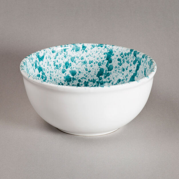 Sicilian Ceramic Salad Bowl in color Green