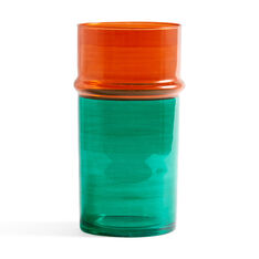 HAY Moroccan Vases- Large in color Orange/ Green