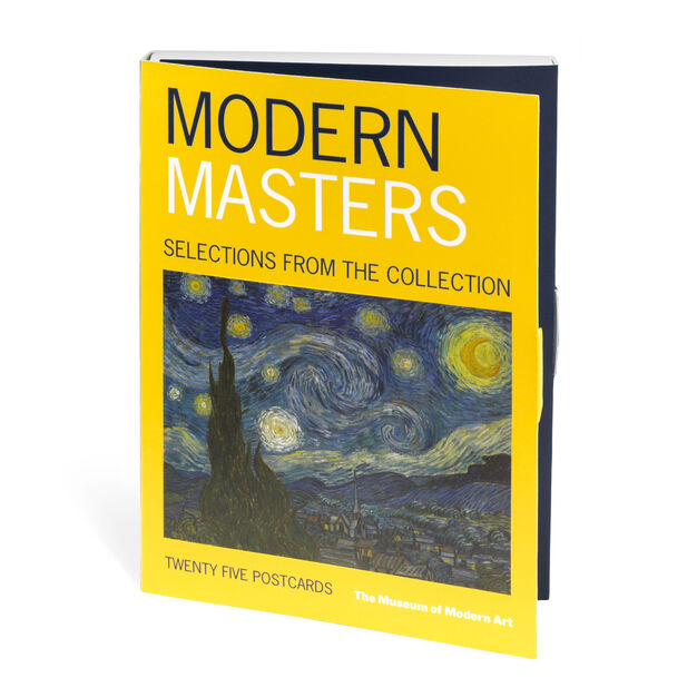 Modern Masters Postcard Book in color