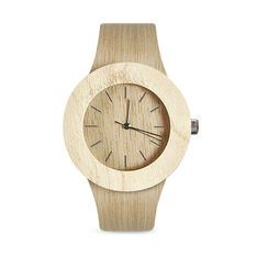 Carpenter Watch - Light Wood in color