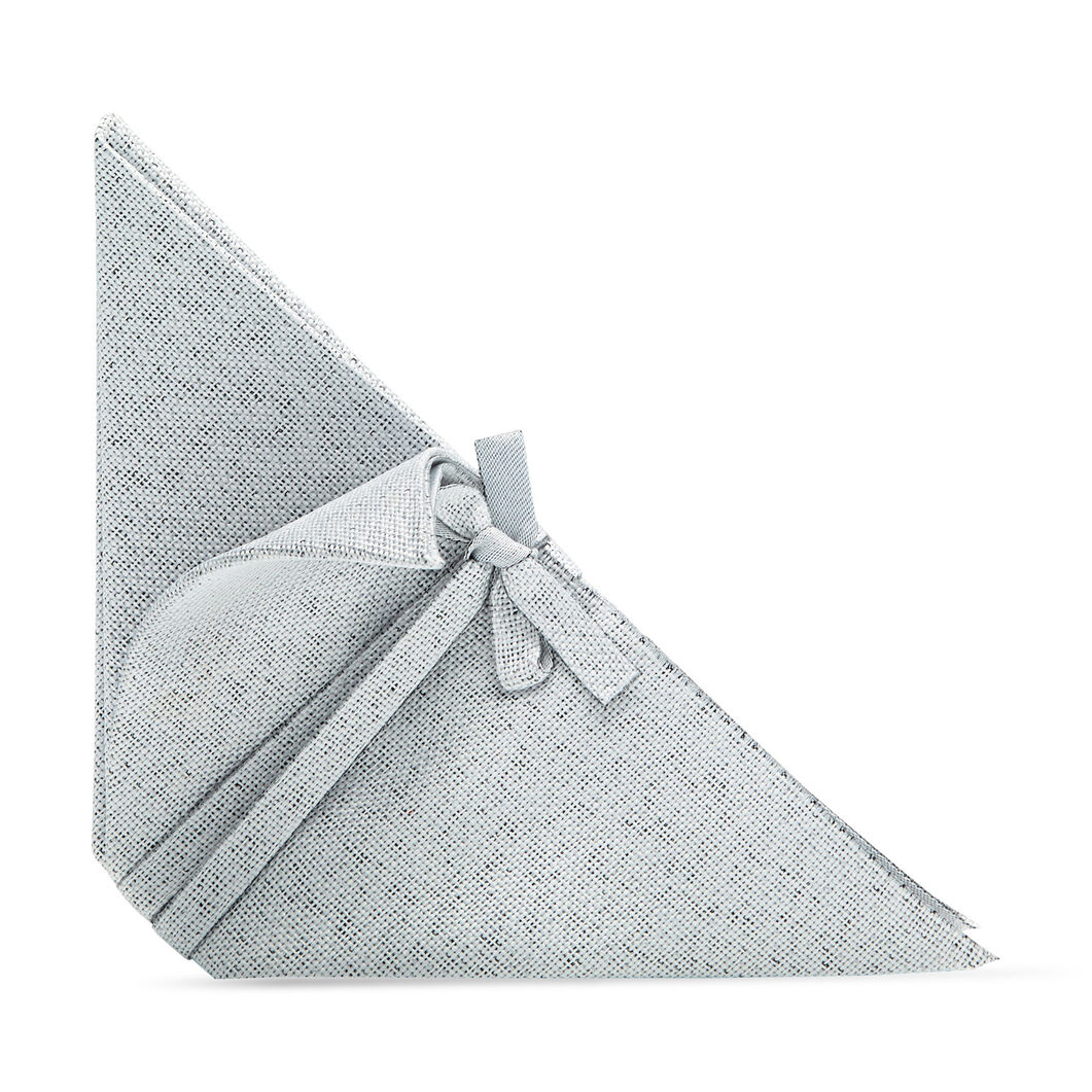 Iittala X Issey Miyake Napkins Light Gray in color