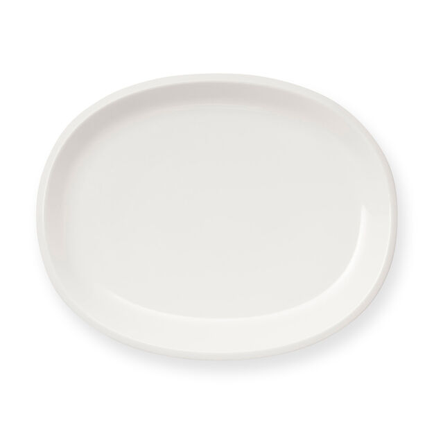 Iittala Raami Porcelain Oval Serving Platter in color