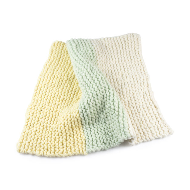 Loopy Mango Little One's Blanket DIY Knit Kit in color