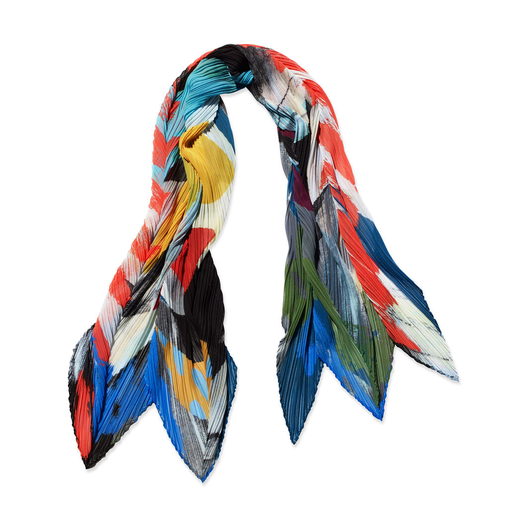 PLEATS PLEASE ISSEY MIYAKE Laughing Rope Scarf in color