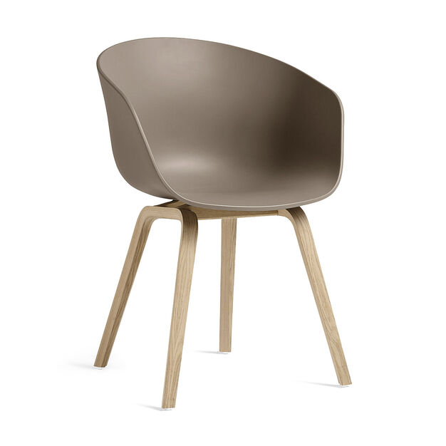 HAY About a Chair 22 in color Khaki/ Oak