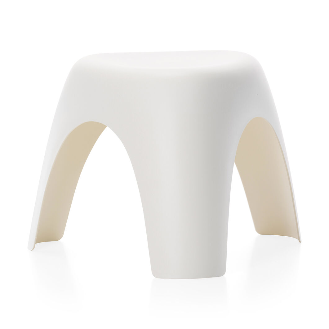 Stacking Elephant Stool in color Cream