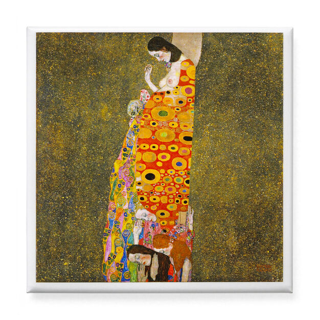 Klimt: Hope II Magnet in color