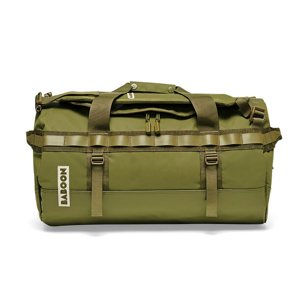 Baboon to the Moon Carry-On Duffle Bag in color Green