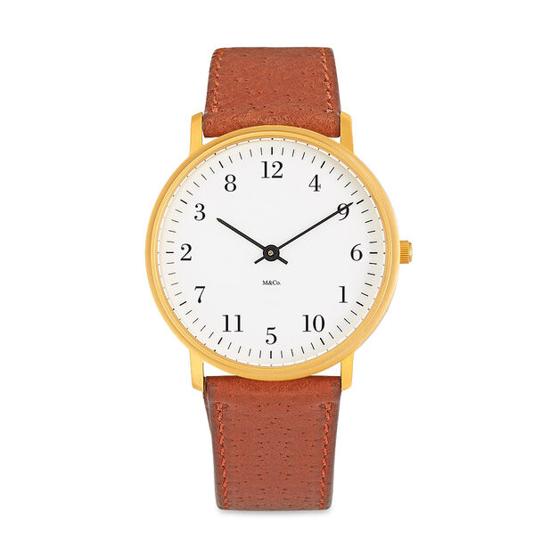 Askew Brass Watch in color