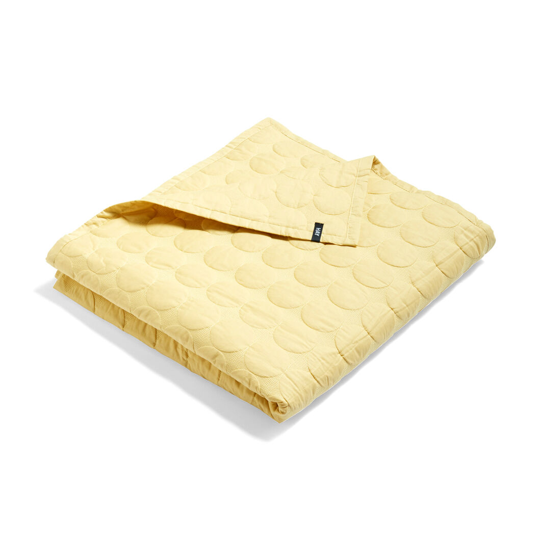 HAY Mega Dot Coverlet in color Yellow