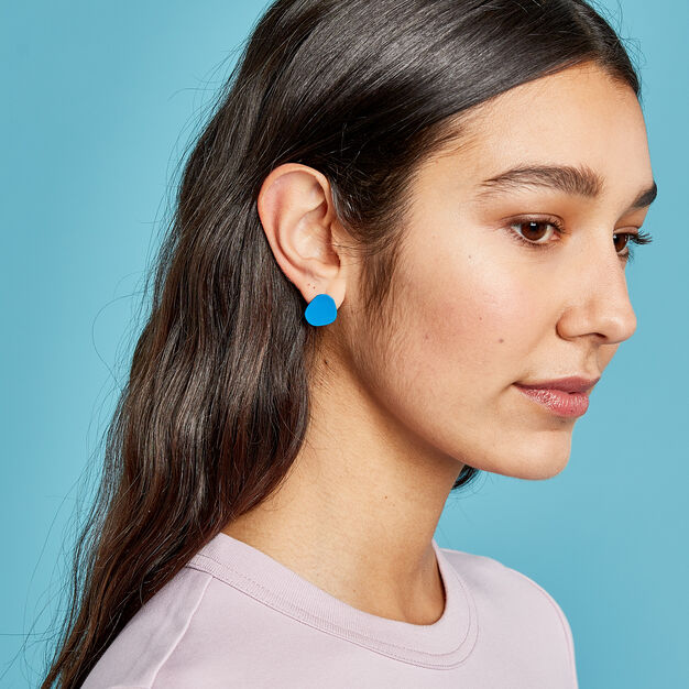 Sibilia Organic Earring Post Set in color