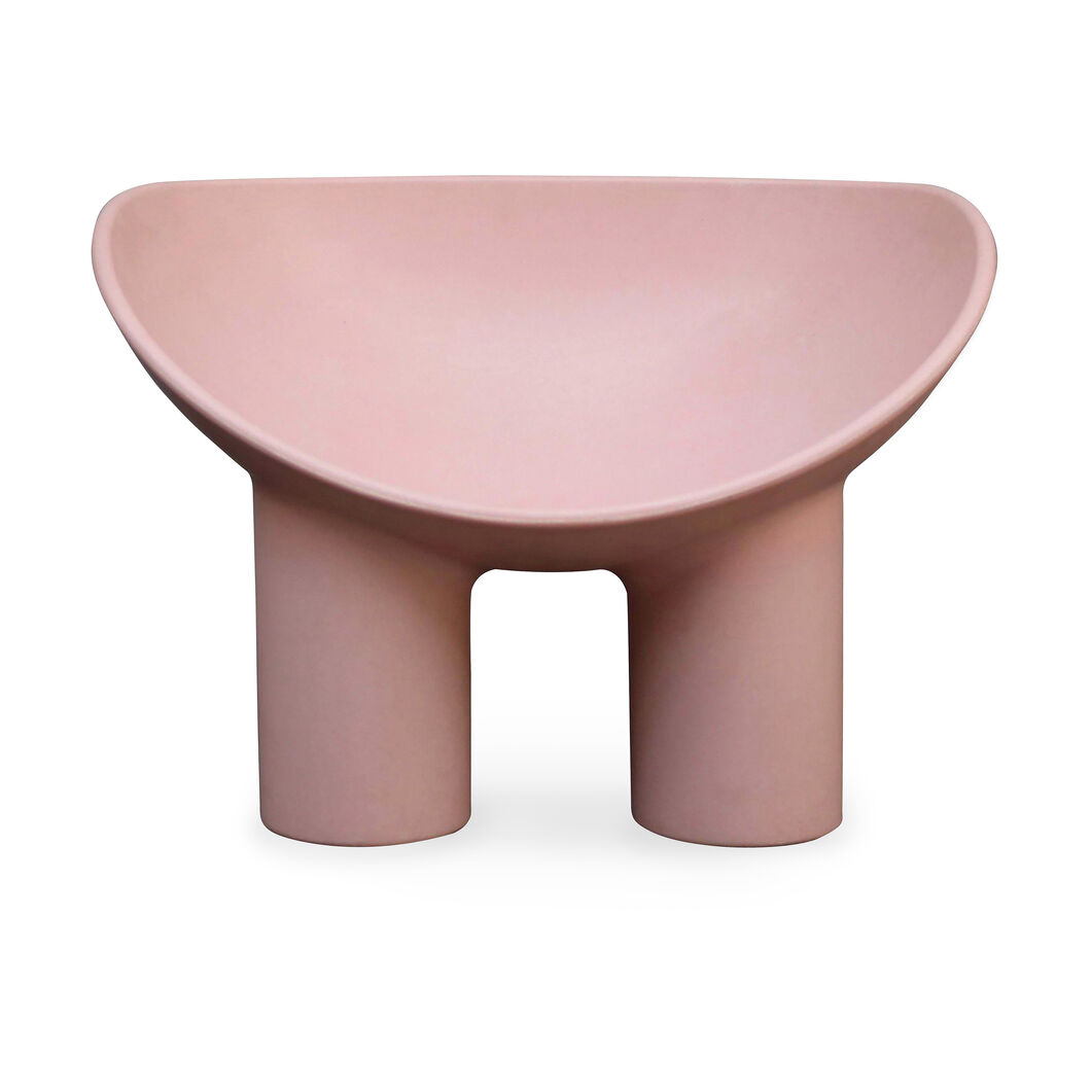 Roly Poly Armchair in color Pink