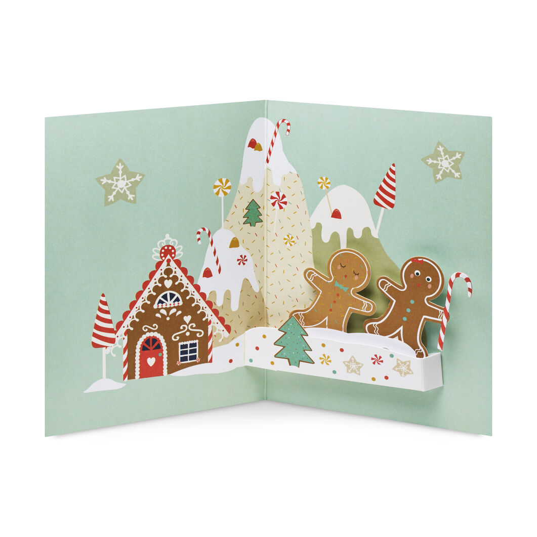 Gingerbread Mountain Holiday Cards- Set of 8 in color
