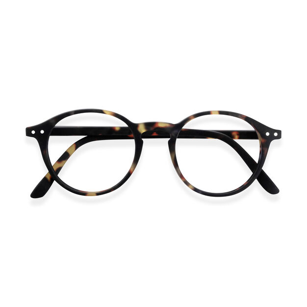 IZIPIZI Round Reading Glasses #D in color Tortoise