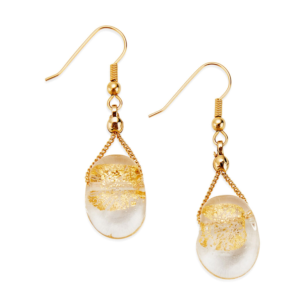 Gold-Leaf Earrings in color