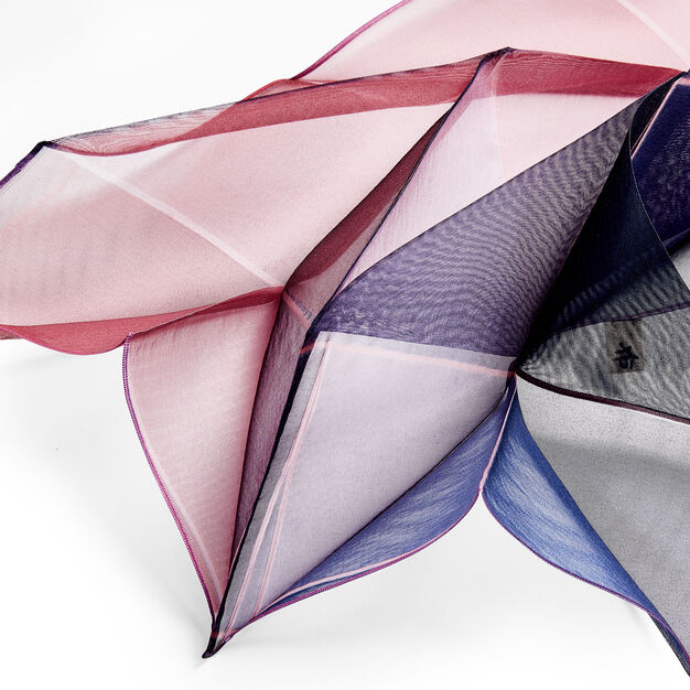 Origami Pleated Scarf in color