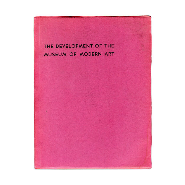 A Report on the Development of the MoMA - Paperback in color