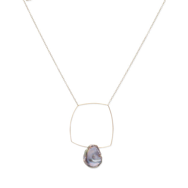 Melissa McArthur Pearl Pendant Necklace in color