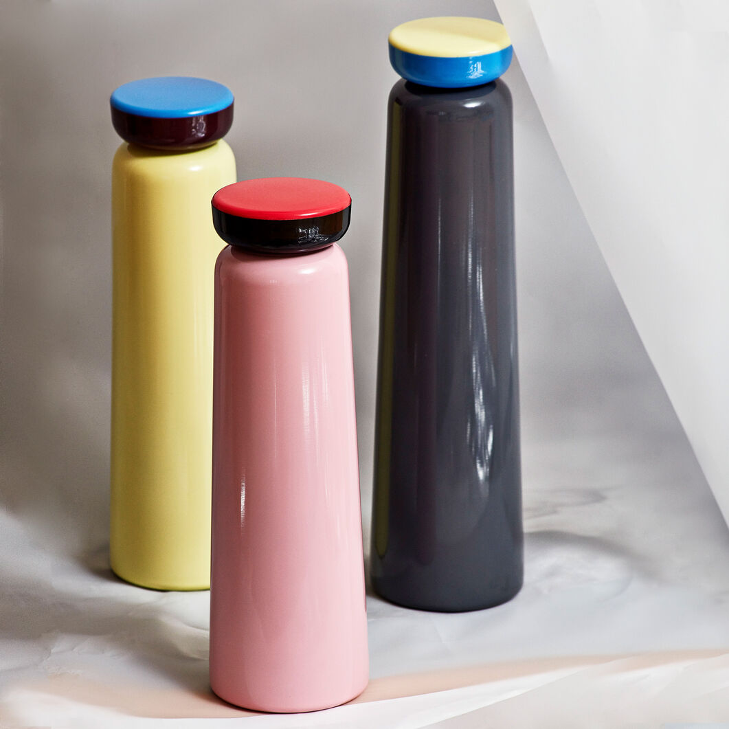 HAY George Sowden Water Bottles in color Pink