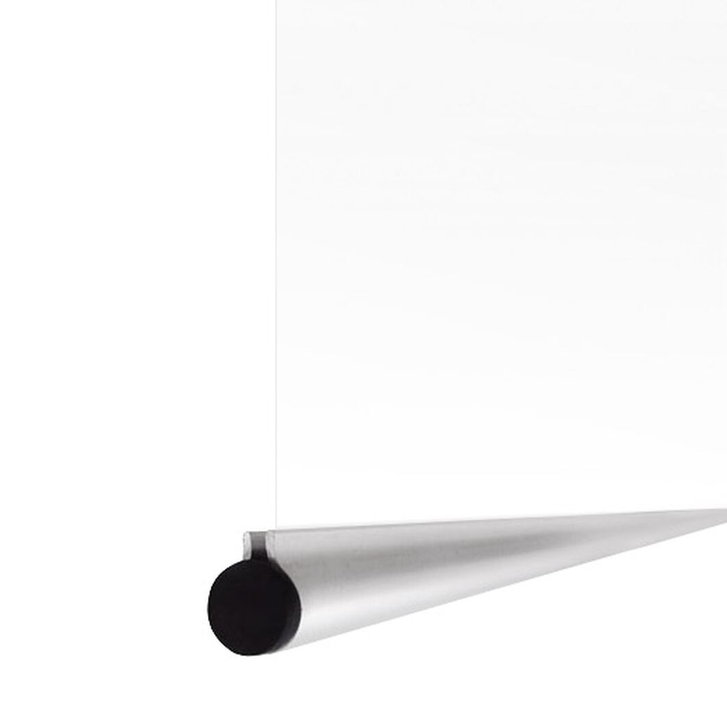 Poster Hangers in color Silver
