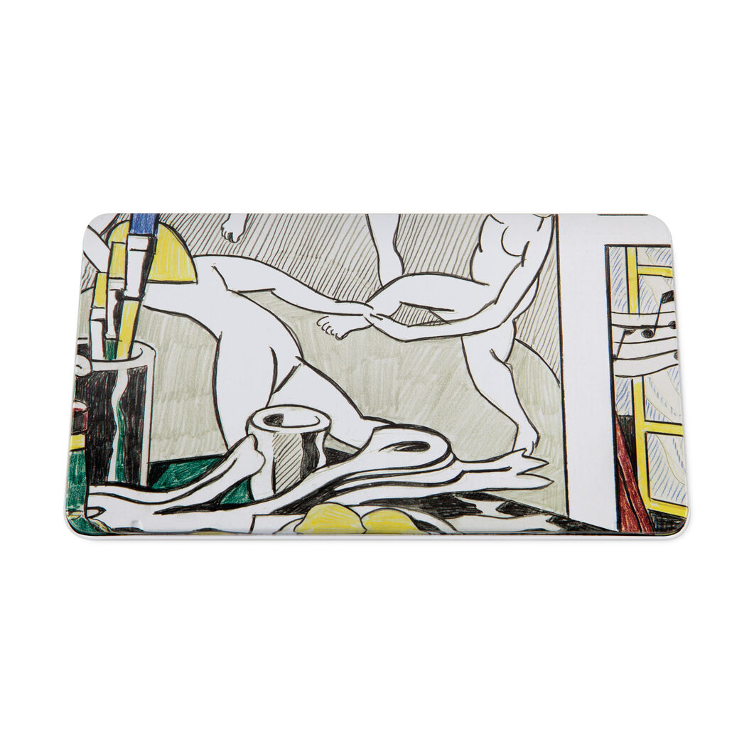 Roy Lichtenstein: Colored Pencil Set in color
