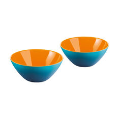 Mini My Fusion Bowls in color Blue/ Orange