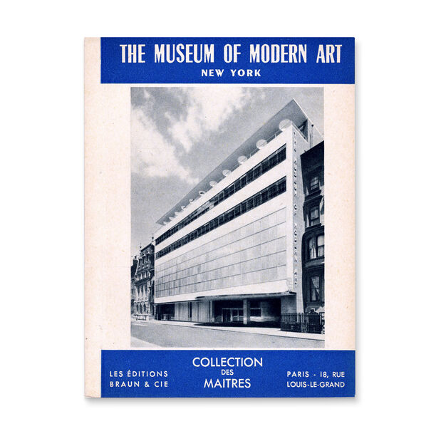 The Museum of Modern Art: Painting and Sculpture Collection. Collection des Maitres - Paperback in color