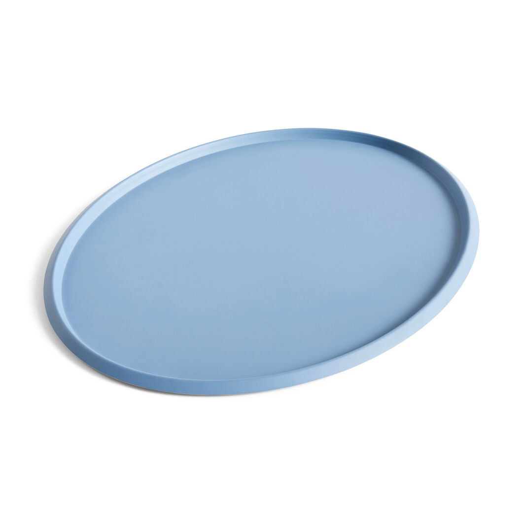 HAY Ellipse Trays in color Light Gray