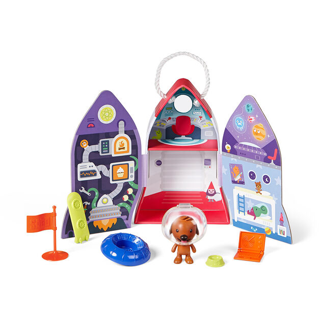 Harvey's Spaceship Playset in color