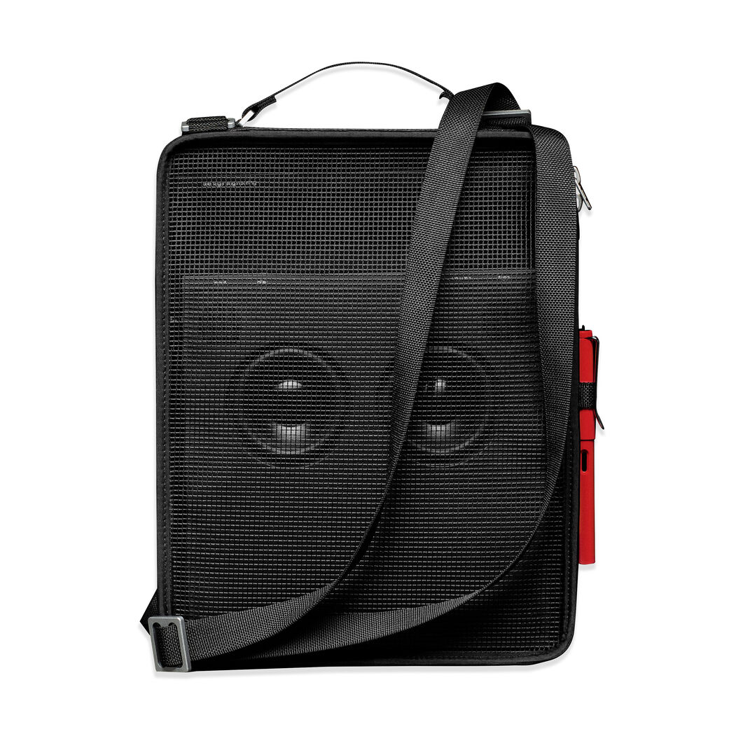 Mesh Bag for Teenage Engineering OB-4 Portable Bluetooth FM Radio in color Black