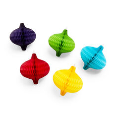 Honeycomb Vintage Ornament Set in color