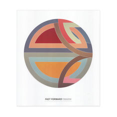 Frank Stella: Sinjerli Variation I Poster in color