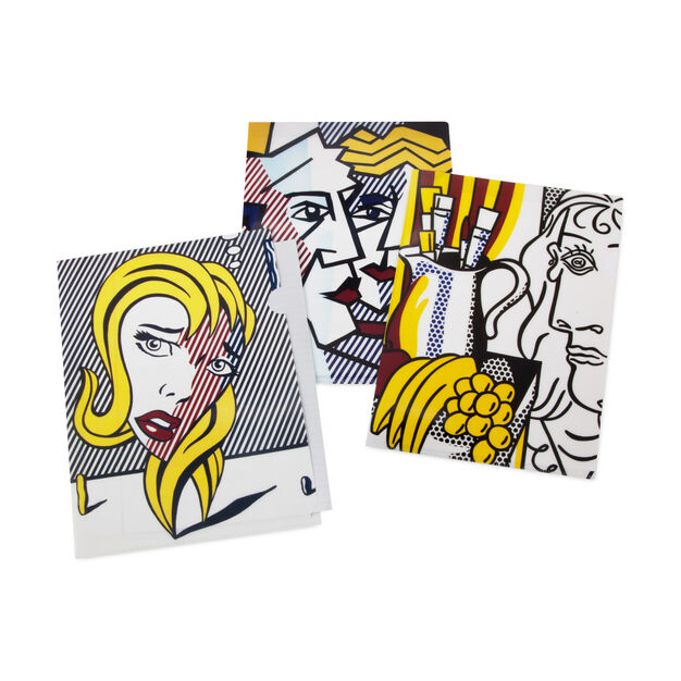Roy Lichtenstein: Art Movement File Folders in color