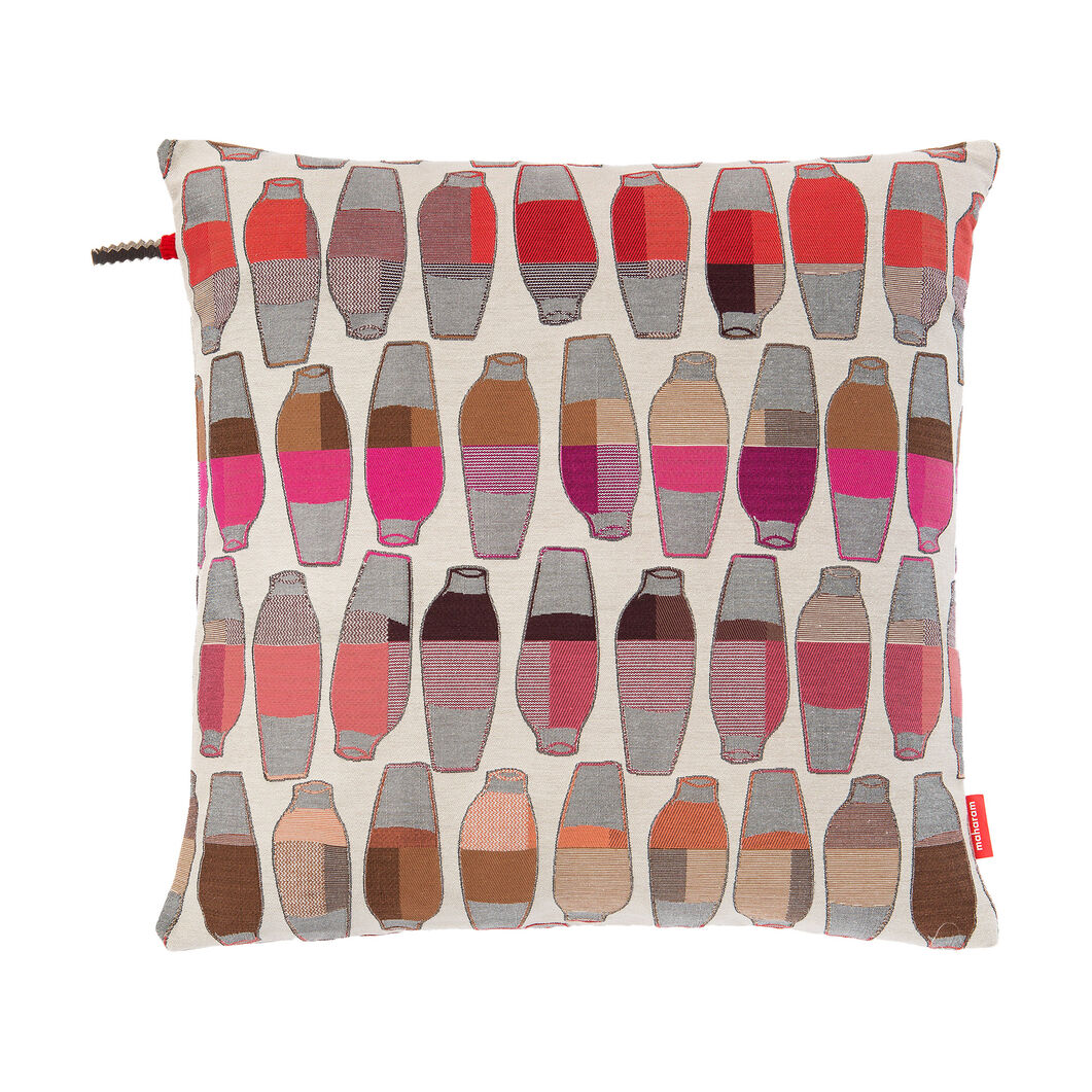 Maharam Vases Pillow - Berry in color