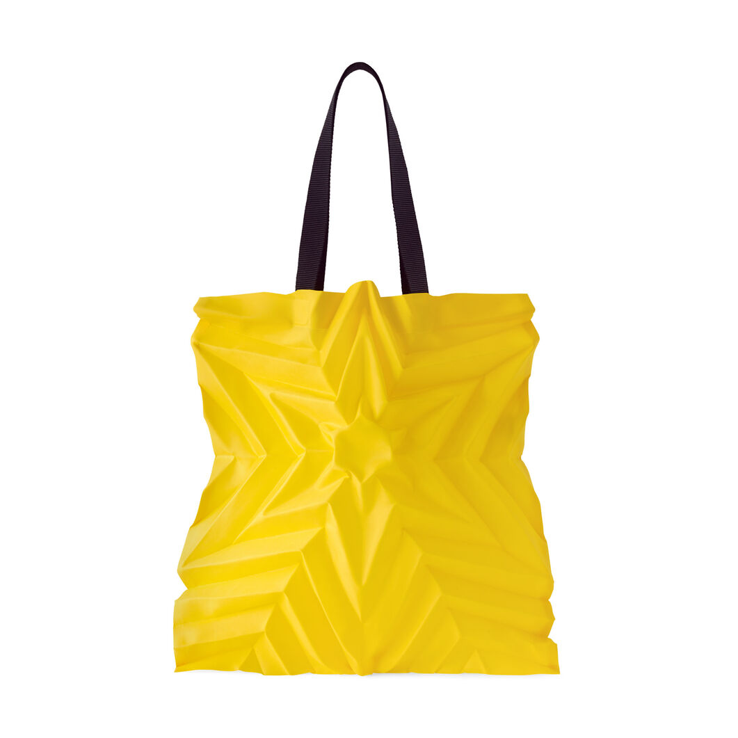 Issey Miyake Star Pleats Bag in color Yellow