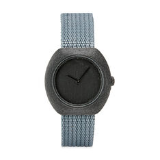 3D-Printed Step Watch in Terracotta in color Grey
