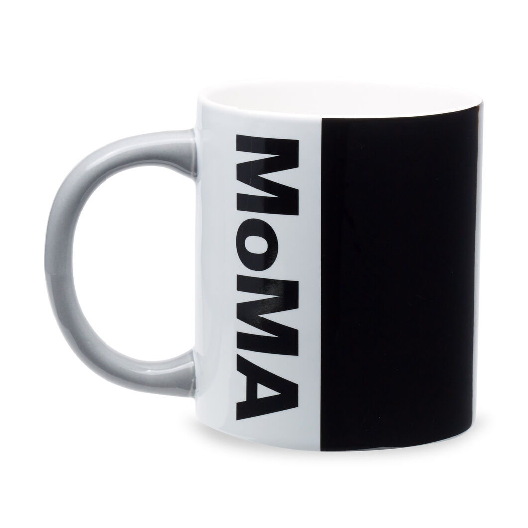 MoMA Logo Mug in color Black/ Grey
