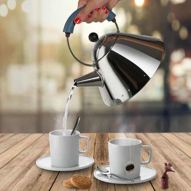 Alessi Michael Graves 9093 Kettle in color