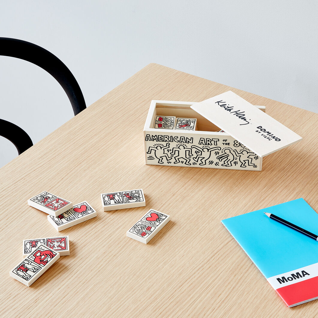 Keith Haring Dominoes in color