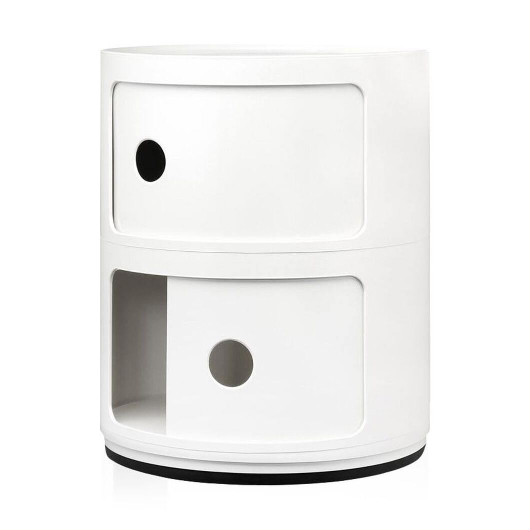 Componibili 2 Tier by Kartell in color White