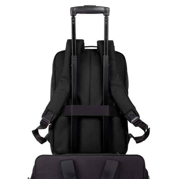 Lexon Double Track Backpack in color Black