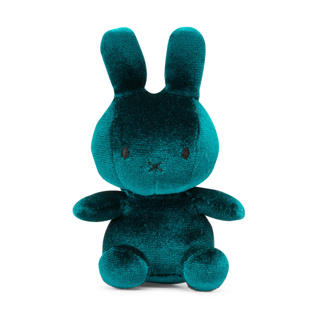 Velvet Plush Miffy in color Teal