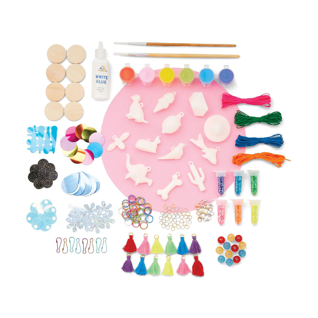 Kid Made Modern Charm Chest Jewelry Kit in color